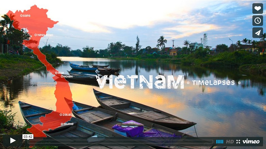 View Vietnam timelapse on Vimeo