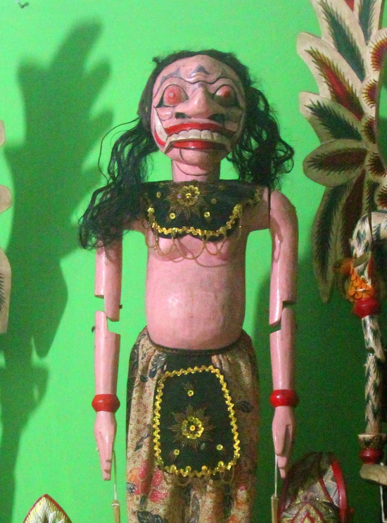 Wayang golek figures always have a story to tell