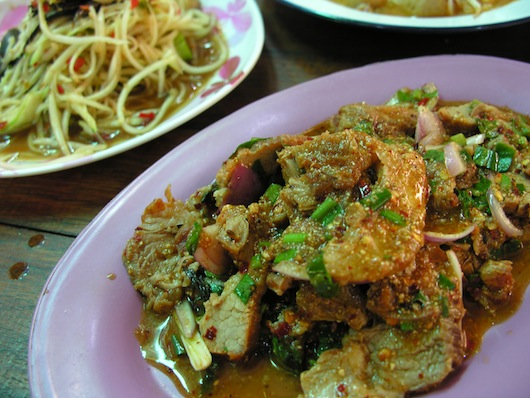 Nam tok muu -- nothing beats it.