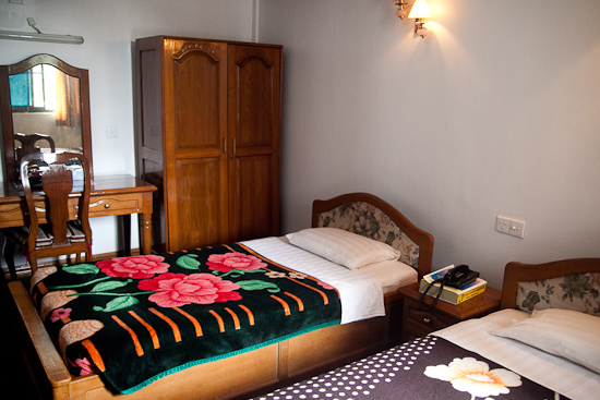 A nice addition of provisions for a budget accommodation in Yangon