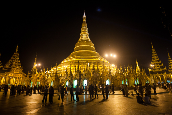 Bring your wide angle just to capture the full stupa