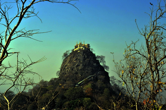 Mount Popa - a day trip from Bagan?