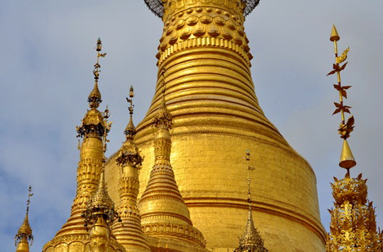Yes, Pyay has pagodas too