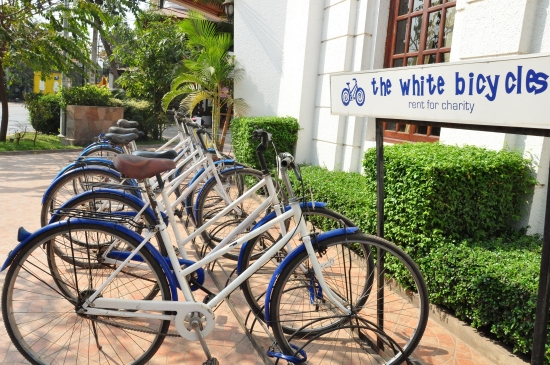 The White Bicycles - cheap for you, good for charity