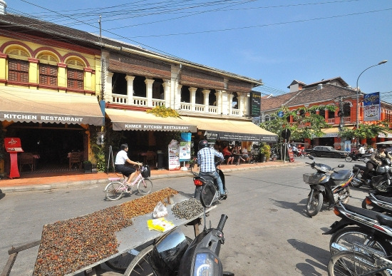 Khmer Kitchen 1: Great location, great food.