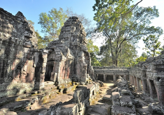 Peace, quiet and solitude inside Banteay Kdei