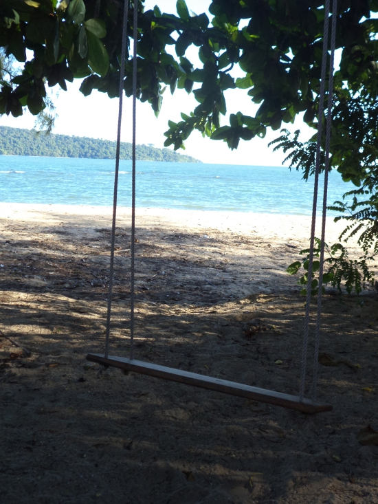 Every beach needs a swing.