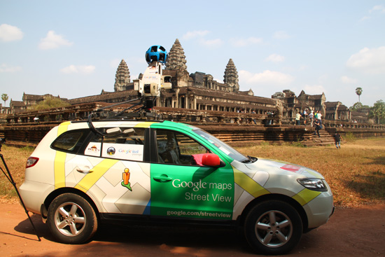 Say cheese to the Google Car.