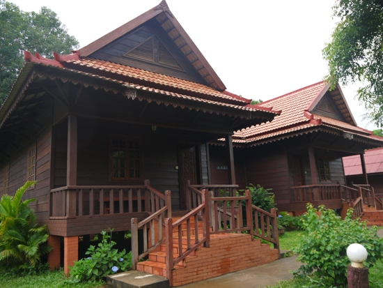 All of the accommodation are in individual bungalows
