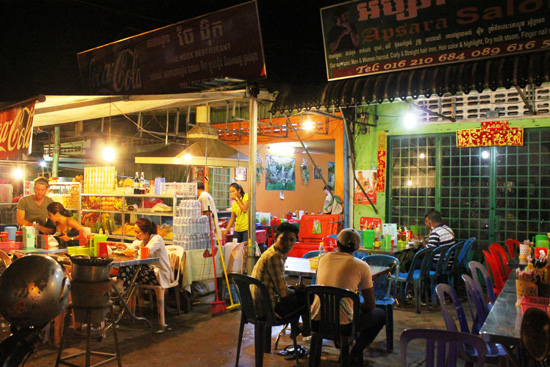 Eat with the locals at Chae Ngek Restaurant