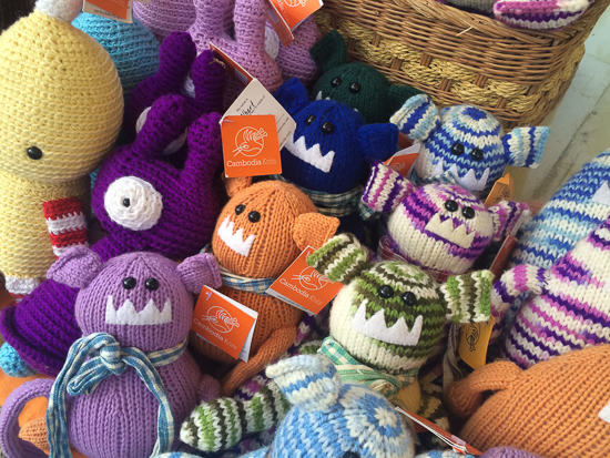Too much cuteness from Cambodia Knits at Shinta Mani Made in Cambodia Market