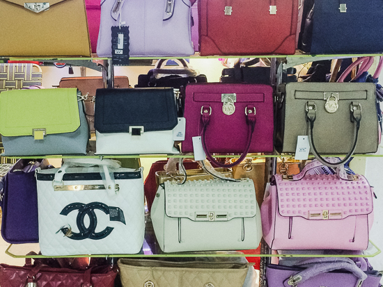 Where would we be without Chanel bags for $25? Totes original, obvs.