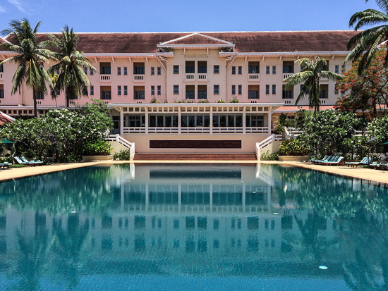 A touch of the divine at Raffles Grand Hotel d'Angkor.