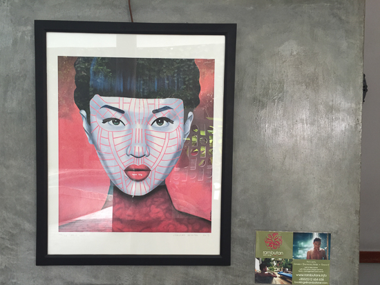 Belgian, Bangkok-based artist Christian Develter is making a splash in Cambodia.