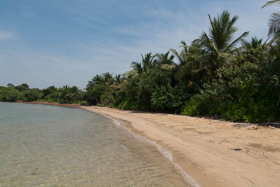 The beach on Koh Pos.