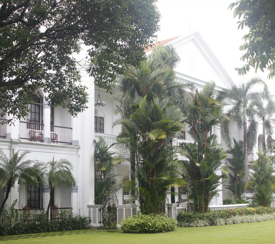 Hotel Majapahit is the best hotel in town, but you pay for the privilege