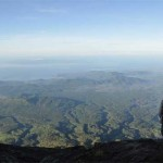 Photos from the summit of Gunung Agung on Bali