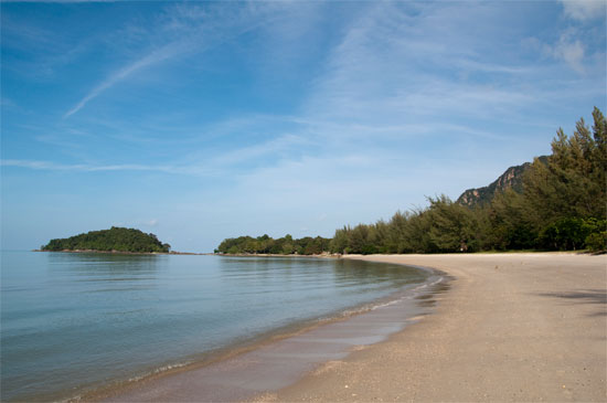 Pantai Kok - I was the only person here - really.