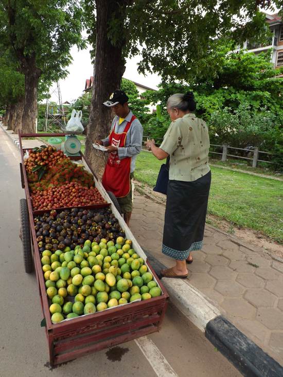 Sweet deals at the fruit cart