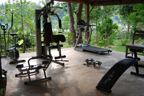 Le Bel Air is one of the few hotels in Luang Prabang with a fitness center.