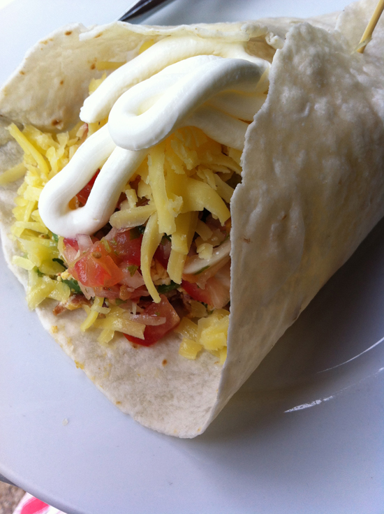 All hail the mighty breakfast burrito!