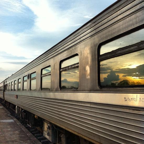 All aboard! #70 train from Nong Khai to Bangkok