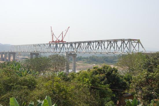 Bridge building in early 2015.