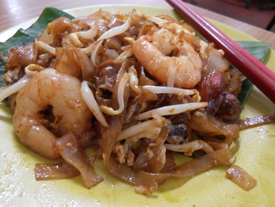 Char koay teow is one of Penang's most iconic dishes.