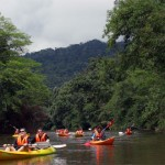 Kayaking in Kuching