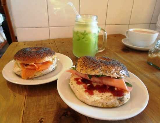 The poppy seed-coated bagels have a deservedly good reputation in Georgetown.