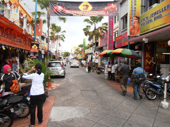 Little India is alive with sights and smells, and banging Bollywood music.