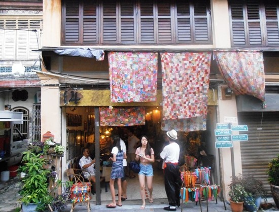 14 Living Story is one of the most original and quirkiest of the boutiques on Lebuh Armenian.