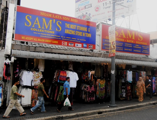 A true Aladdin's Cave, Sam's Boutique has a deservedly good reputation.