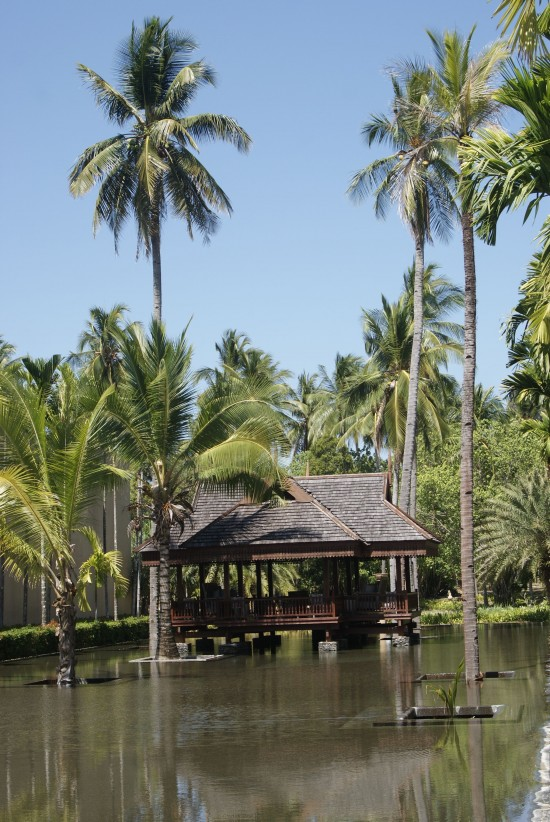 Tropical luxury at the Four Seasons.