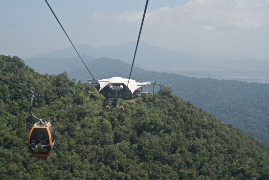 The sky's the limit at the Panoramic Cable Car.