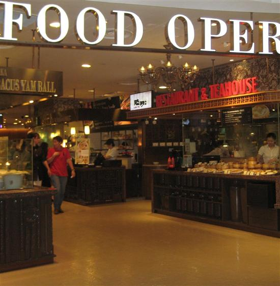 New Town Plaza Food Court In Hong Kong: Great Meals In Malls: Orchard Road Foodcourts