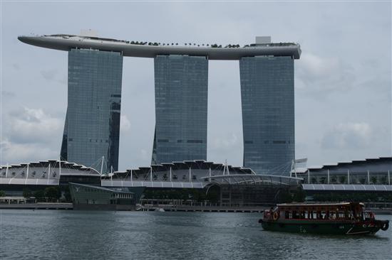 Cruising past New Singapore...