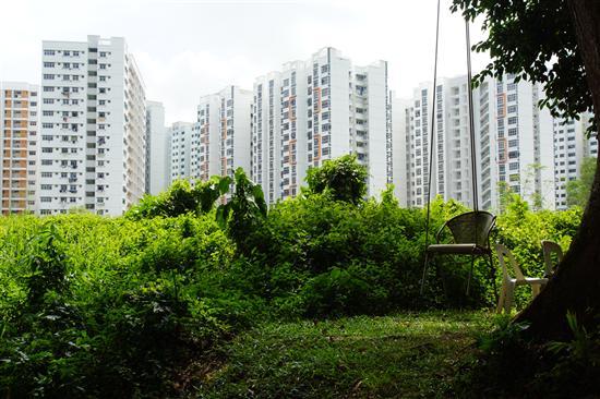 Modern Singapore is sneaking up on Kampong Buangkok...