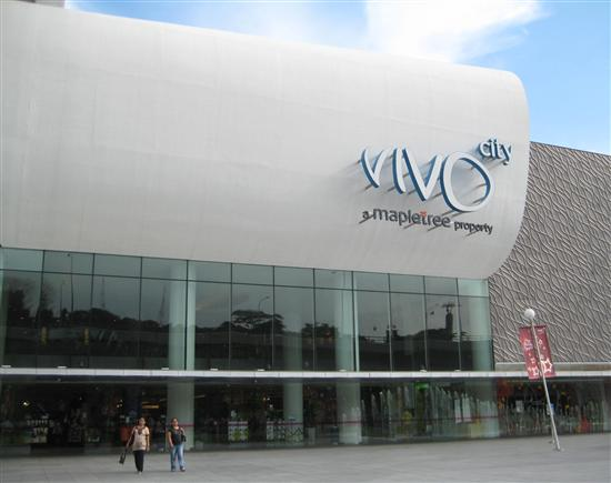 VivoCity is the gateway to Sentosa and a great place to shop.