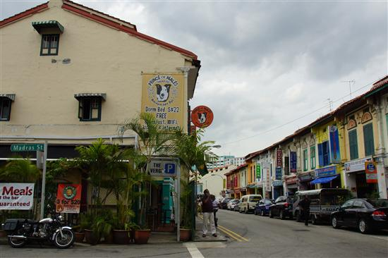 Little India has become Singapore's backpacker hub
