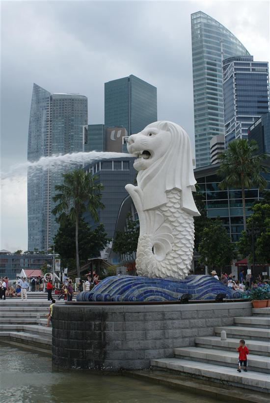 Learn the story behind landmarks like the Merlion.