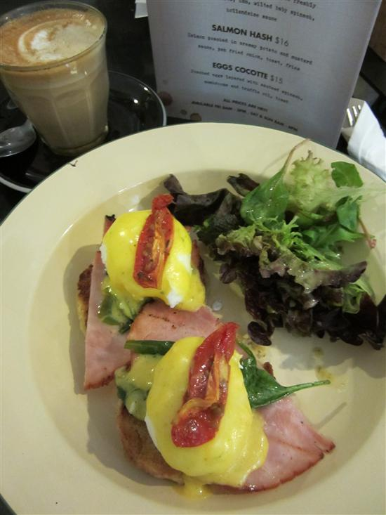Forty Hands is known for their delicious breakfasts.