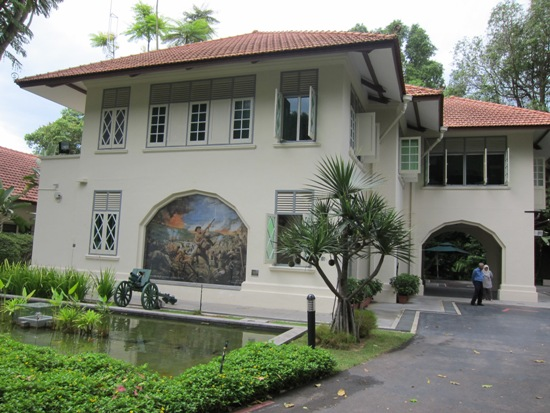 Reflections at Bukit Chandu is housed in a charming colonial bungalow, the last remaining in this area.
