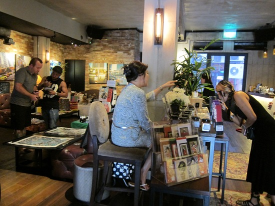Candles anyone?  The uber hip Sunday Artists Market at the Vault showcases original designs, and even includes new fiction and tea blends.