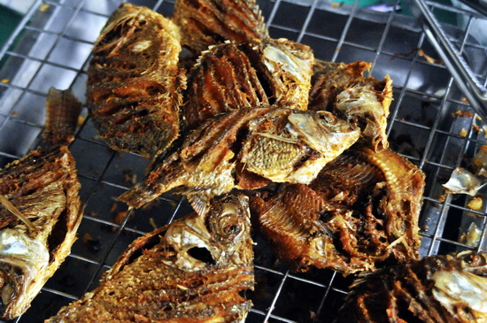 Deep fried fish for a takeaway lunch?