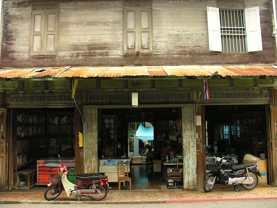 Rayong's old town -- yet another one of Thailand's pleasant surprises.