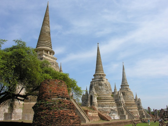 Wat Phra Si Sanphet isn't bad, but there's much more to see.