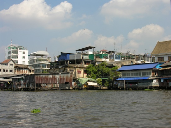 What most of Bangkok's riverfront looks like.