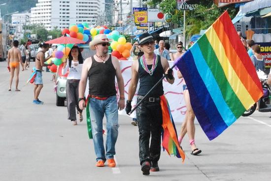 Last year's Phuket Pride parade had a huge turnout.