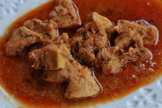 ...and the said 'chicken curry